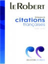 Dictionnaire De Citations Francais