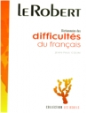 Dictionnaire Des Difficultes Du Fracais