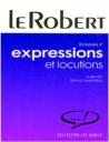 Dictionnaire D'Expressions ET Locuions