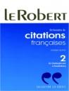 Dictionnaire De Citaions Francais 2